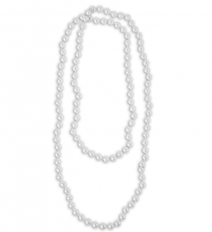 Perlenkette lang Charleston Partyschmuck Modeschmuck