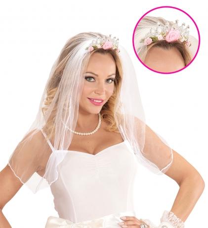 Braut Haarreif Haarband Diadem Hochzeit Junggesellinnenabschied JGA Hen Party
