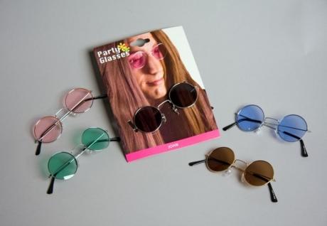 60er 70er Jahre Brille John Nickelbrille Karneval