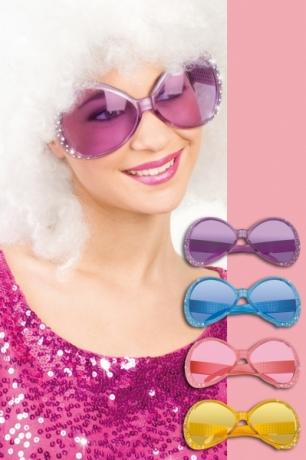 XXL Brille Hollywood Sonnenbrille Partyzubehör Karneval