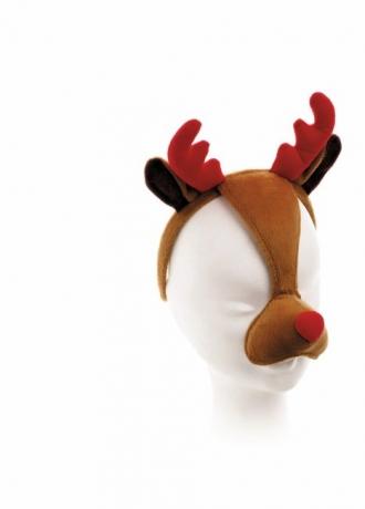 Rentier Elch Rudolph Maske mit Geräusch Weihnachtsaufführung Apres Ski
