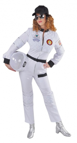 Astronautin Raumfahrer Pilotin Overal auch Übergröße