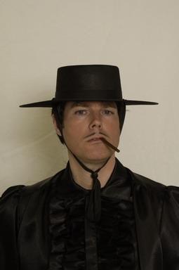 Zorro Zorrohut Karneval Fasching Kostüm Party