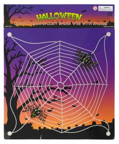 Spinnennetz mit Saugnäpfen + Spinnen Tarantula