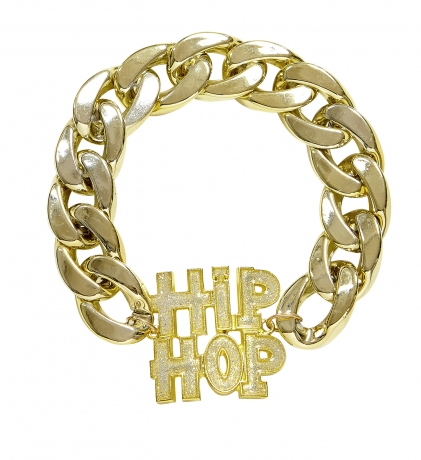 80er 90er Jahre Proll Babo Lude Macho Prolethen Hip Hop Rapper Armband