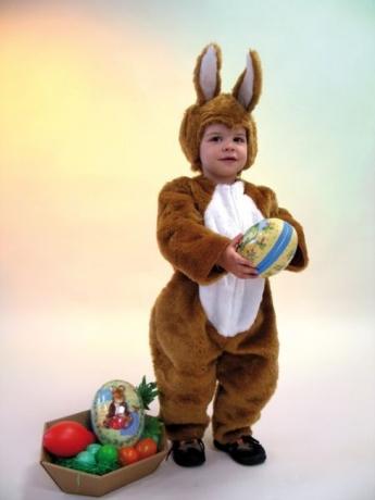 Hase Häschen Kostüm Kinder Karneval Fasching Ostern