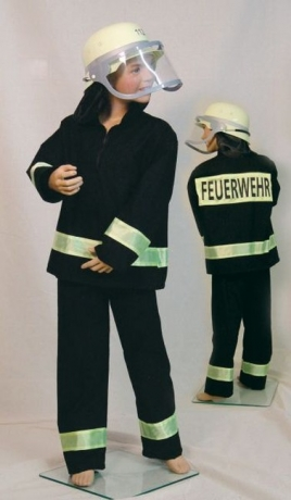 Feuerwehr Uniform Karneval Fasching Kostüm