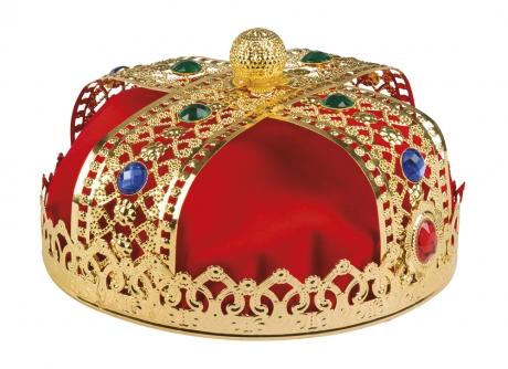 Königskrone Krone aus Metall König Prinz Mallorca Königin Prinzessin