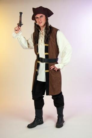 Pirat Seeräuber Herrenkostüm Karneval Fasching