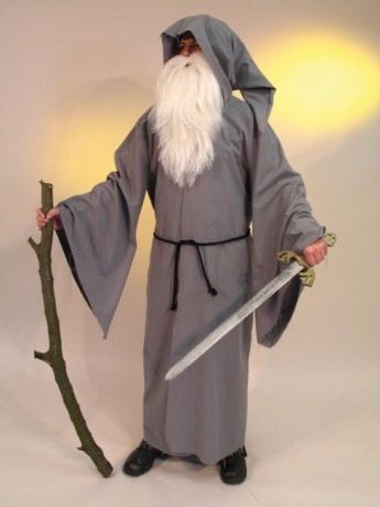 Druide Zauberer Merlin Kostüm Karneval Halloween Party