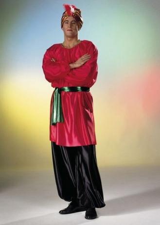 Sultan Kostüm Orient Karneval Fasching Party