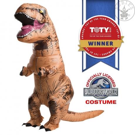 Aufblasbares Dinosaurier Kostüm T-Rex Junggesellenabschied Kegeltour