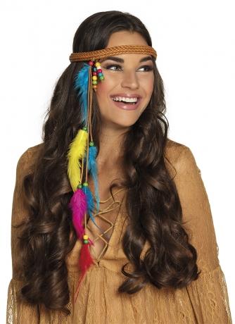 Hippie Hippiehaarband Indianerin Sommerlook Ibiza Style 70er