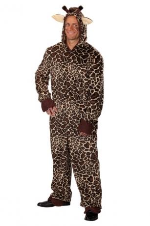 Giraffe Unisex Tierkostüm Faschingskostüm Maskottchen Verkleidung Karn