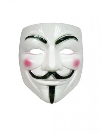 Flachmaske Barack Obama gestanzt Kostümmaske Herrenmaske Präsident