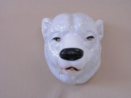 Eisbär Braunbär Bär Maske Karneval Fasching Tierkostüm
