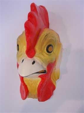Hahn Gockel Maske Ostern Karneval Fasching Party