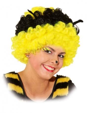 Biene Perücke Karneval Fasching Kostüm Party