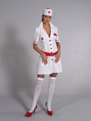 Krankenschwester Kostüm Karneval Fasching Party