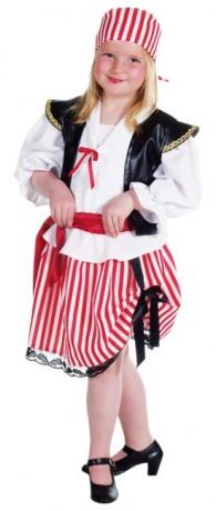 Piratin Piraten Mädchen Kinderverkleidung Seeräuberin Kinderfasching