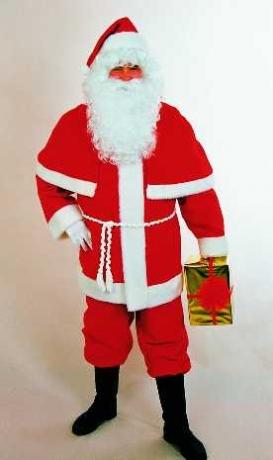 Nikolausanzug Weihnachtsmann Nikolaus Kostüm Anzug O