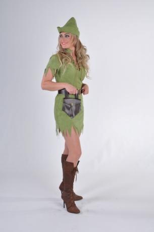 Robin Hood Damenkostüm Jägerin Falknerin