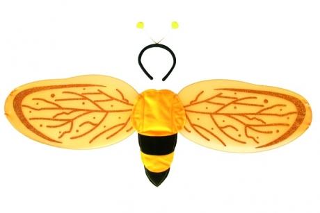 Flügel Biene Fasching Karneval Mottoparty Accessoires