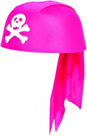 Piratin Piratenhaube pink Seeräuber