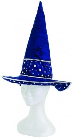 Hut Zauberer Sterne Magierhut Faschingshut Kopfbedeckung Karnevalshut