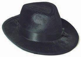 Al Capone Bogart Hut schwarz Top Qualität Karneval