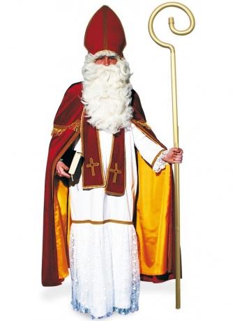 Bischof Sankt Nikolaus Weihnachtsmann Kostüm