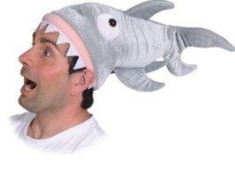 Mütze Hai Haimütze Partymütze Faschingsmütze Karnevalszubehör