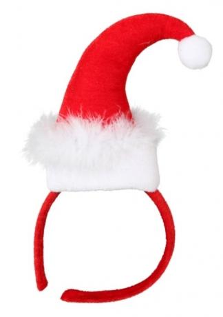 Haarreif Miss Santa Weihnachten Nikolaus Accessoires Heiligabend