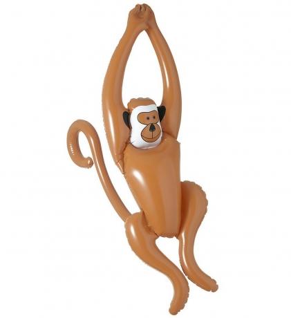 Aufblasbarer schaukelnder Affe Äffchen Affenschaukel Figur 90 cm groß