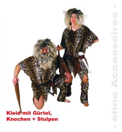 Neandertaler Höhlenmensch Karneval Fasching Party