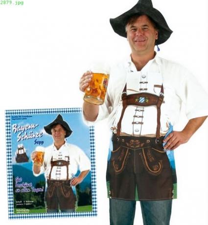 Oktoberfest Bayern Party Bayernschürze Mann / Frau