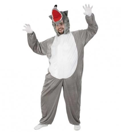 Wolf Kostüm Erwachsene Karneval Fasching Party