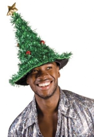 Nikolaus Weihnachtsmann Lustiger Tannenbaum Hut