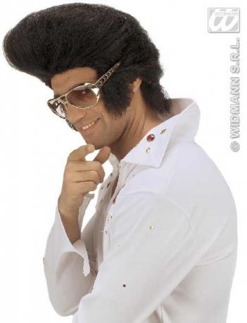 Rockn Roll Elvis Proll Brille Karneval Party