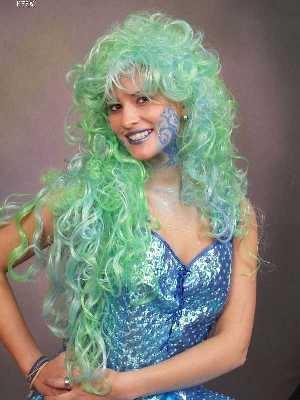 Meerjungfrau Nixe Meermaid Karneval Fasching Kostüme
