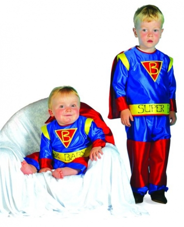 Supermann Super Baby Babykostüm Karneval Fasching Party
