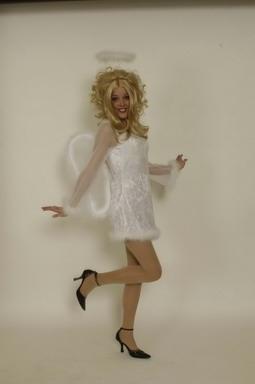 Engel Christkind Kostüm komplett  sexy Angel