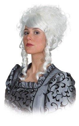 Perücke Lina Mittelalter Rokoko Barock Renaissance Perücke Edeldame