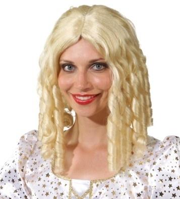 Perucke Holly Blond Damenperucke Locken Kostumfest Fasching Mottoparty