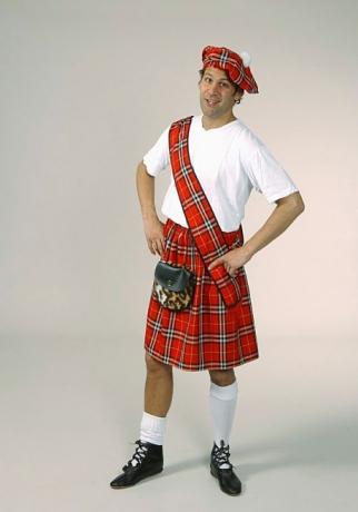 Schotte Schotten Kostüm Fasching Karneval Mottoparty