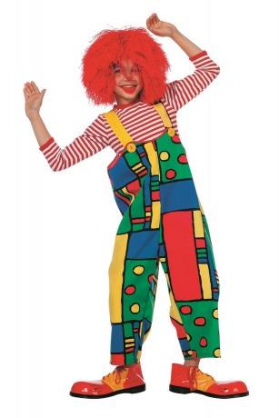 Latzhose Mondriaan Clown Kinderfasching Karneval Zirkus