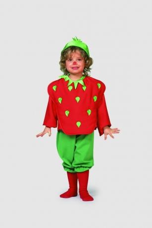 Erdbeere Babykostüm Kinderkostüm Kinderfasching Karneva