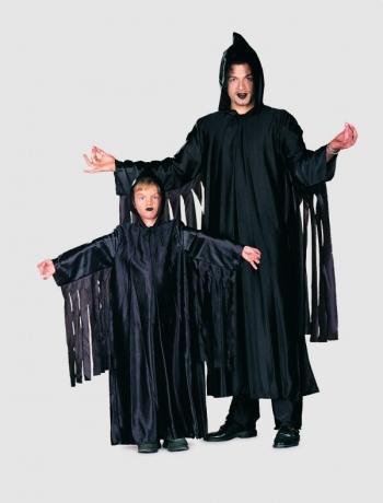 Halloween Geist Umhang Kinderfasching Karneval Kostüm