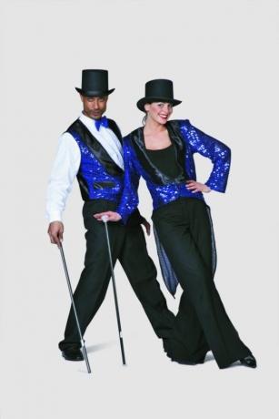 Tanzmariechen bi-stretch Kostüm Funkenmariechen Karneval