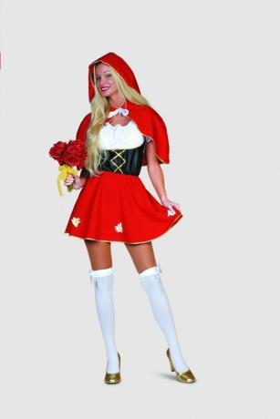 Rotkäppchen Karneval Fasching Mottoparty Kostüm